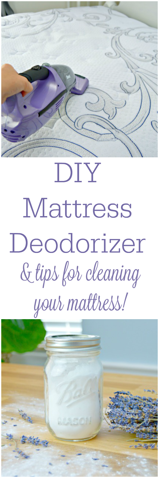 How To Get A Clean Mattress and DIY Mattress Deodorizer