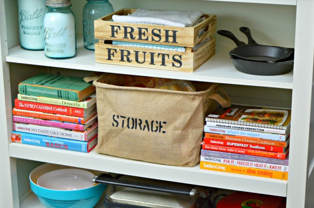 Burlap Storage Basket - Styled 3 Ways
