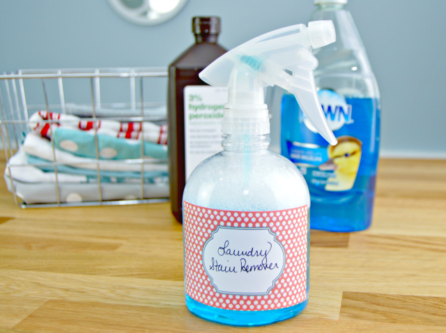The Best Homemade Stain Remover Recipe