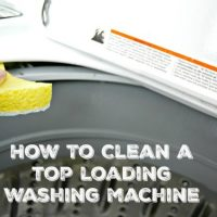 How To Get a Clean Washing Machine Naturally