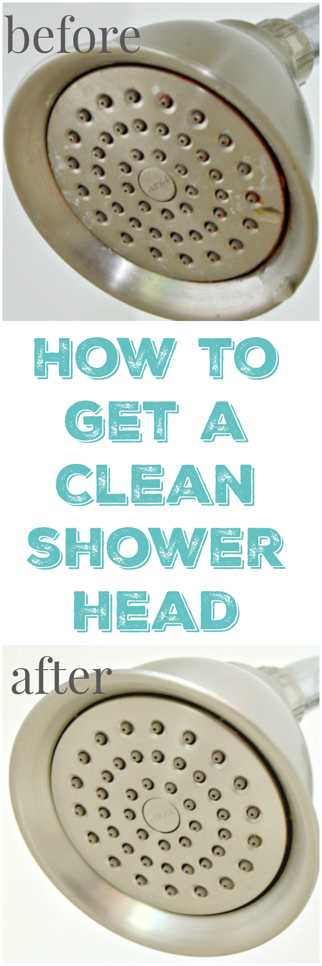 How To Get A Clean Shower Head Mom 4 Real
