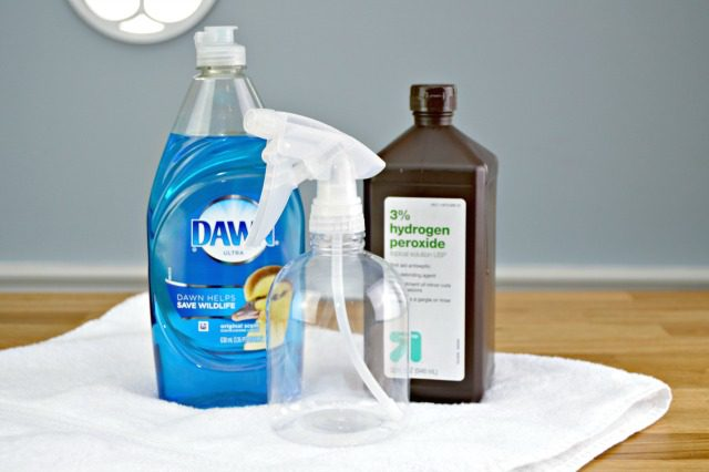 DIY laundry stain remover ingredients