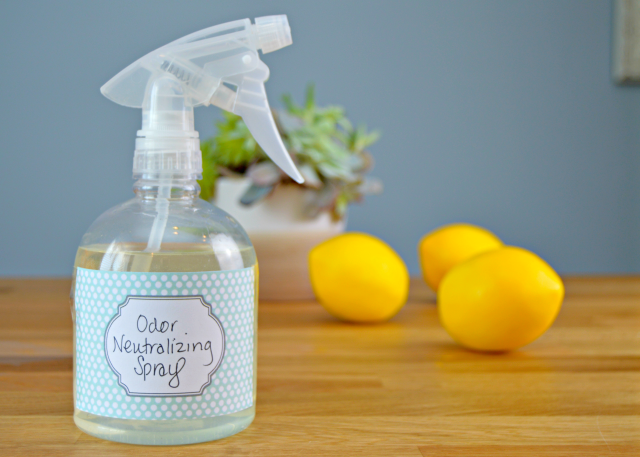 Homemade Odor Neutralizing Spray