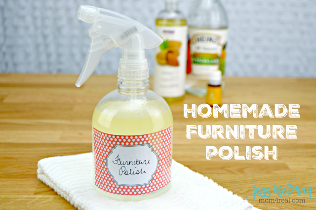 Homemade Furniture Polish for Wood, Painted Furniture and Butcher Block - Video Included