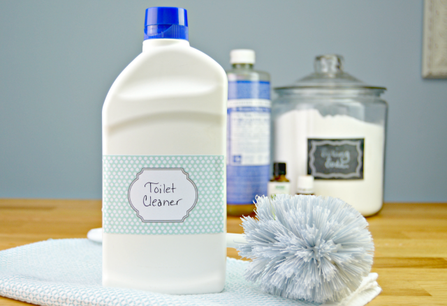 Homemade Toilet Cleaner - Liquid Version