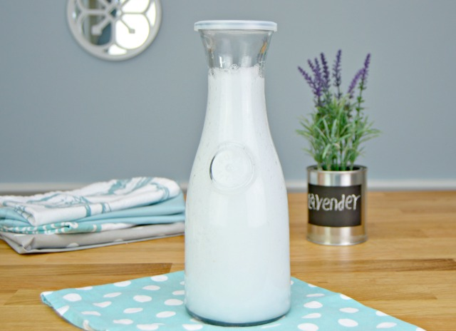 Homemade Liquid Fabric Softener