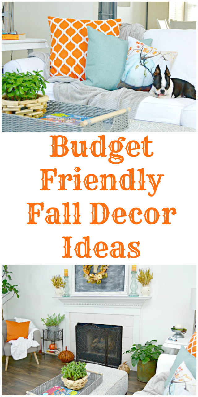 Budget Friendly Fall Decor Ideas with At Home Stores