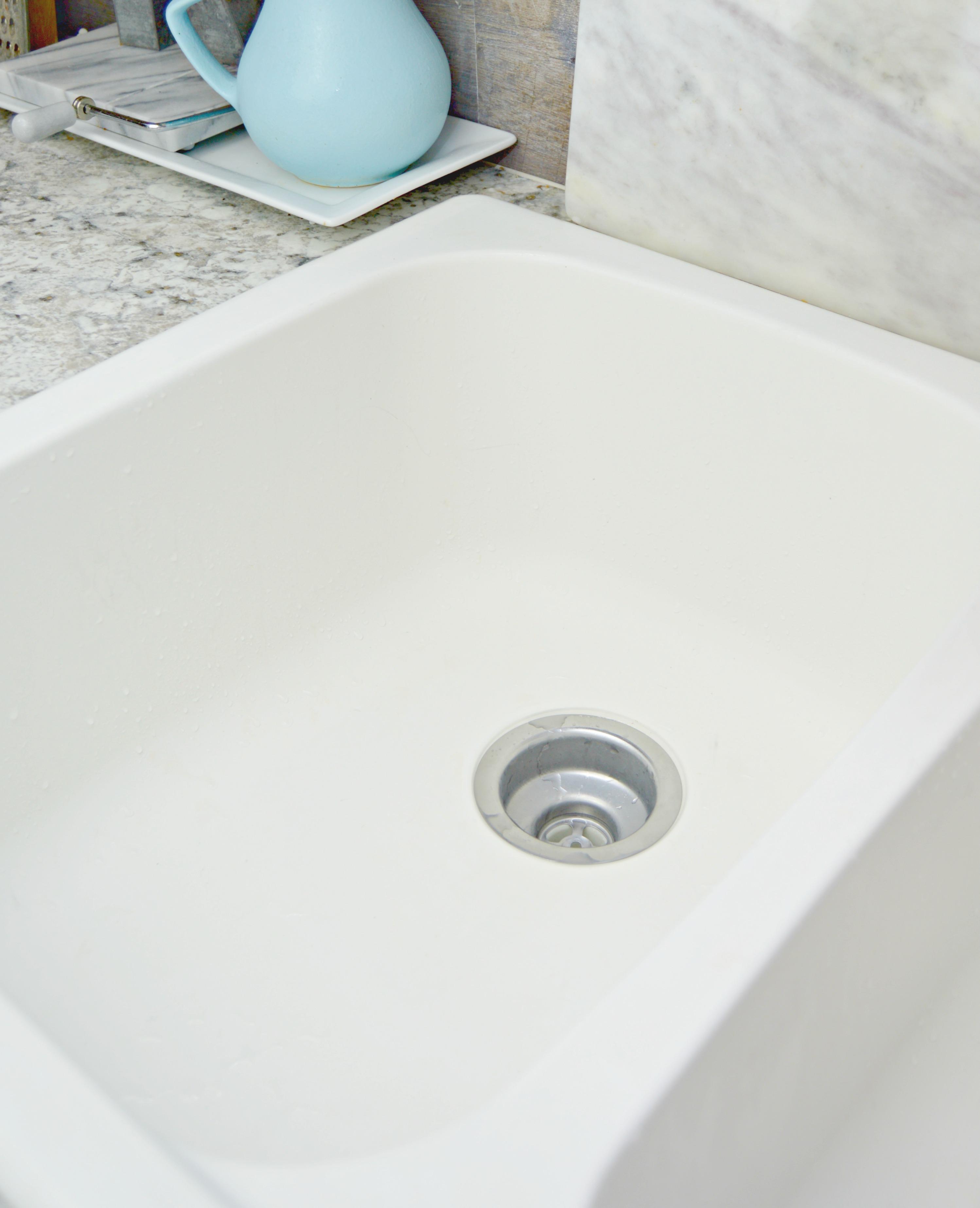 Homemade Sink Cleaner Scrub