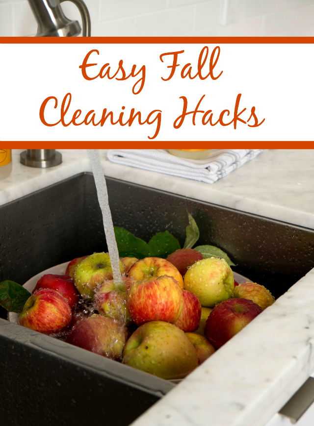 Easy Fall Home Cleaning Hacks