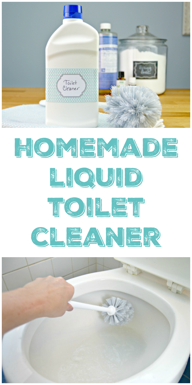 Homemade Liquid Toilet Cleaner