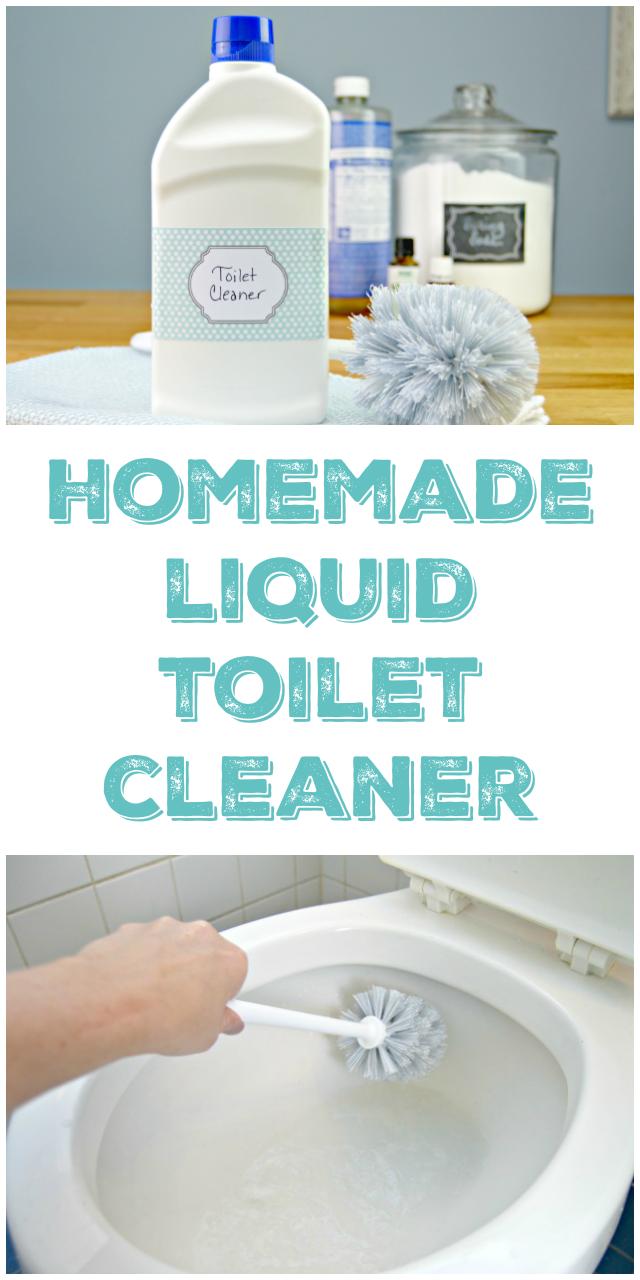 Homemade Liquid Toilet Cleaner