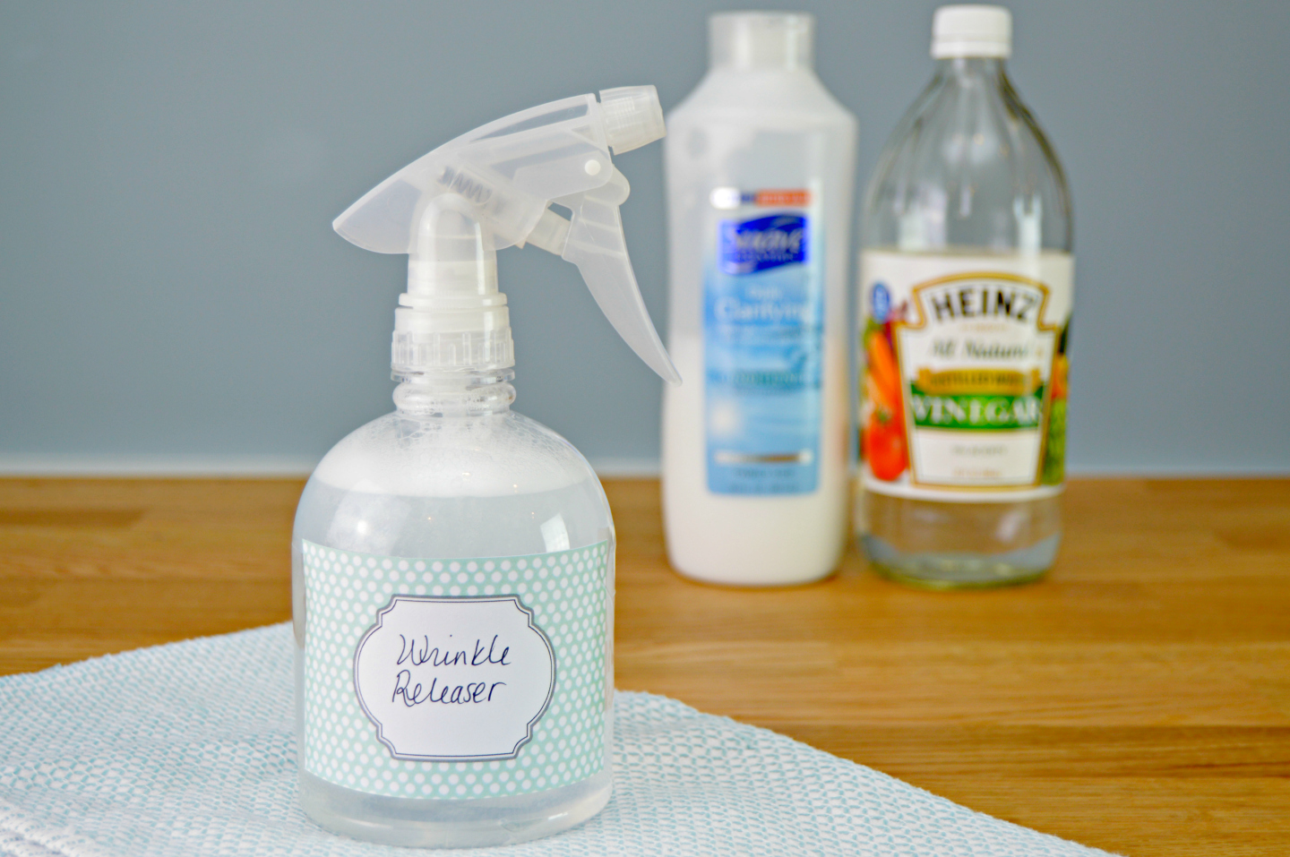 How To Make Your Own Homemade Wrinkle Releaser Spray Mom