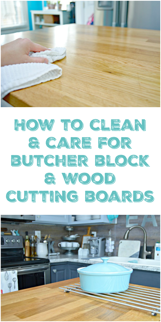 How To Care For and Clean Wood Cutting Boards and Butcher Block