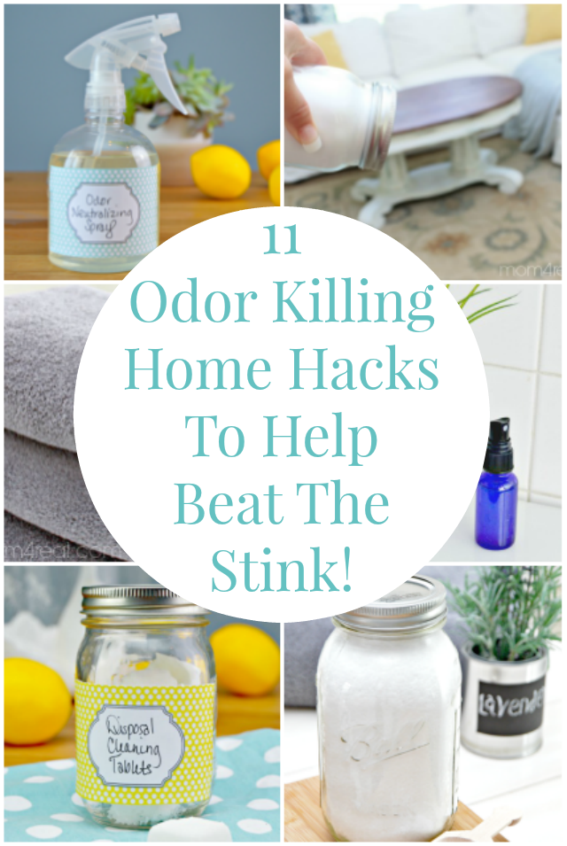 11 Odor Killing Hacks To Help Beat The Stink