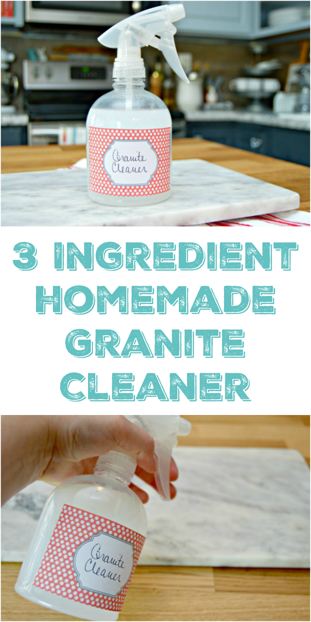 Marble Safe Cleaner : Homemade granite cleaner mom real