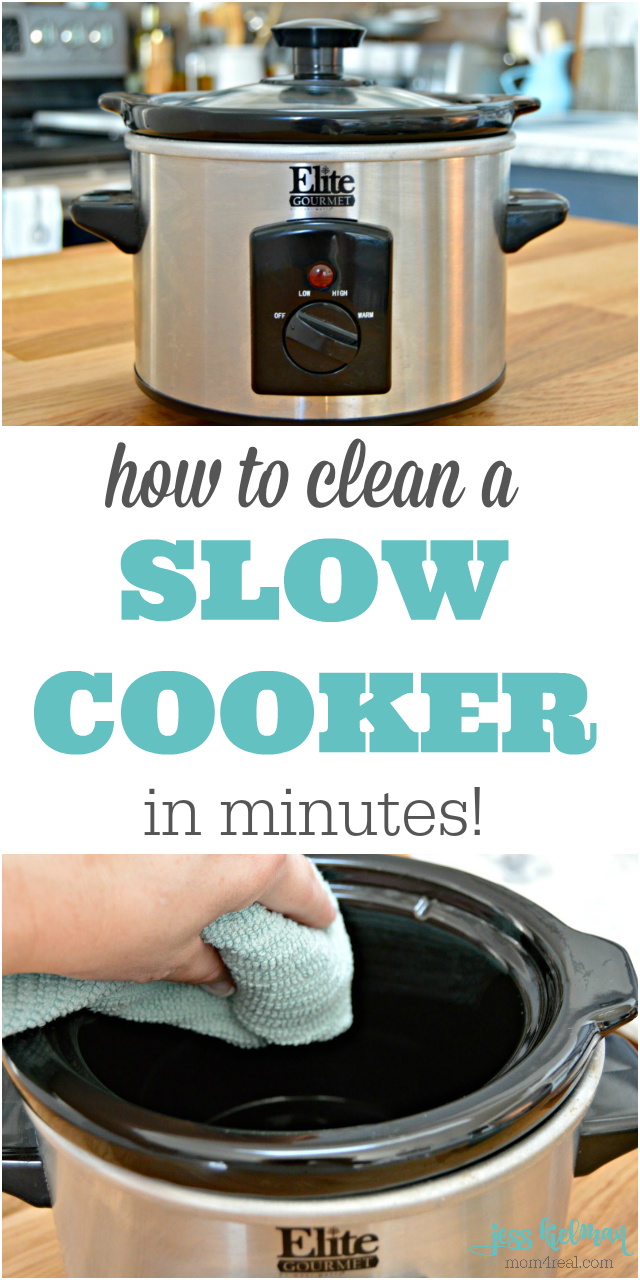 How To Get a Clean Slow Cooker in Minutes