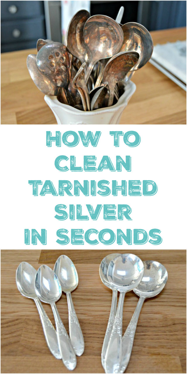 how to clean silver and remove tarnish mom 4 real