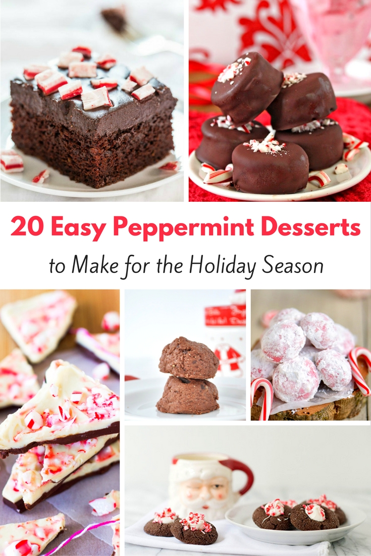20 Easy Peppermint Dessert Recipes