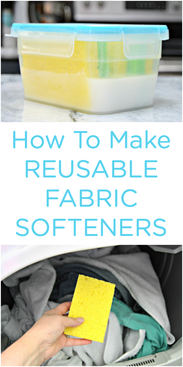 How To Make Reusable Fabric Softeners