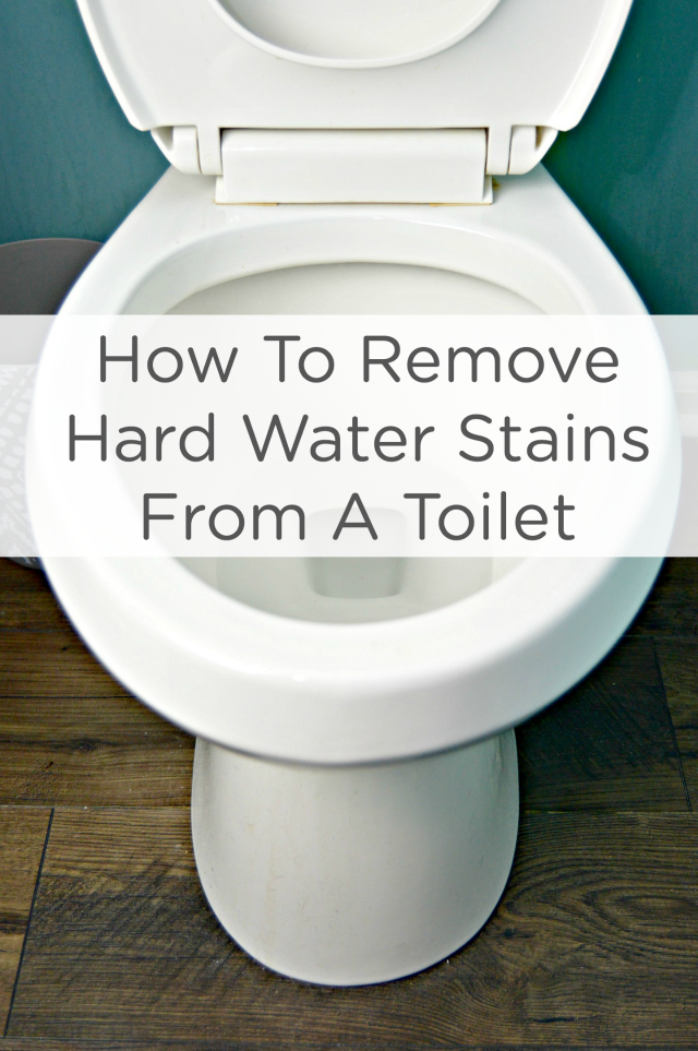Household cleaning tips bathroom - How To Remove Hard Water Stains From A Toilet Mom 4 Real