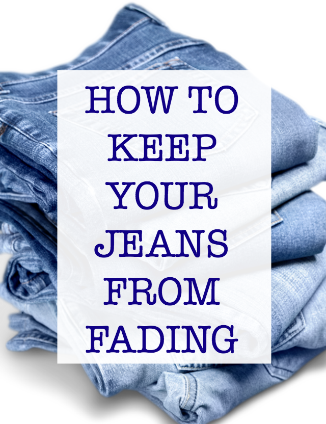 How To Keep Jeans From Fading and more tips for taking care of your jeans.