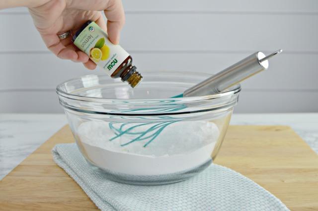 Lemon Scented DIY Dishwasher Detergent