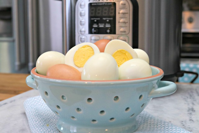 How to Cook Hard Boiled Eggs in the Instant Pot