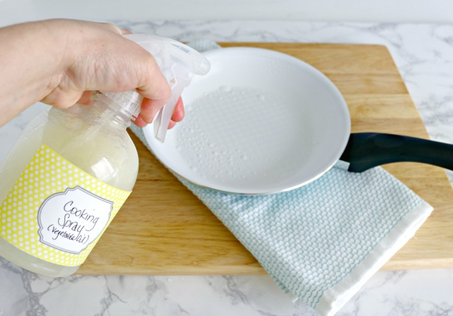 How To Make Homemade Cooking Spray