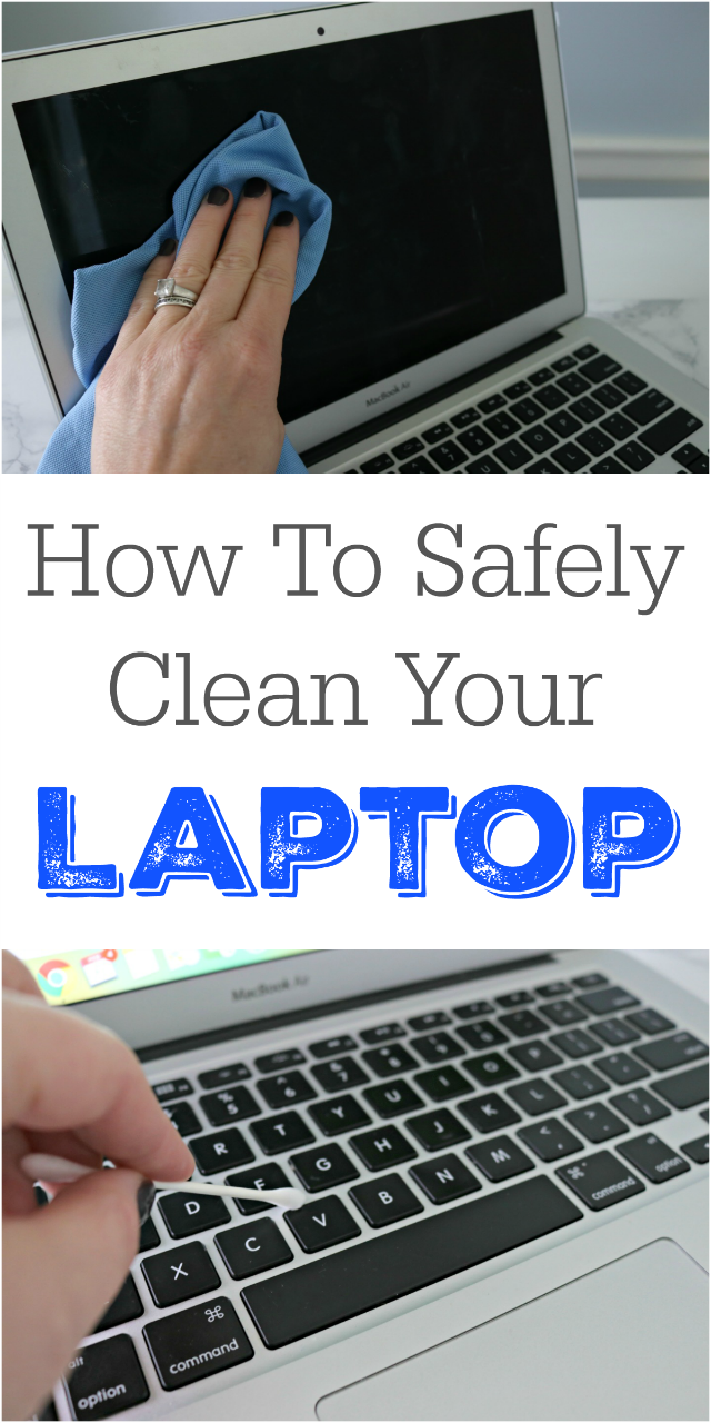 How to Clean a Laptop Safely - Step-by-step tutorial.