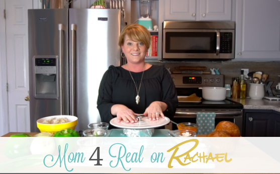 My Rachael Ray Show Appearance Making Buffalo Chicken Deep Dish Pizza