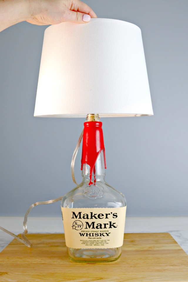 How to Make a Bourbon Bottle Lamp