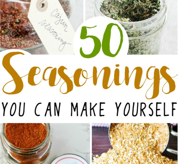 50 homemade seasonings and rubs