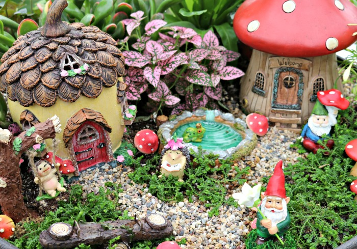 Charmant How To Plant A Fairy Garden