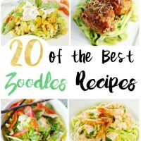 20 Delicious Zoodle Recipes