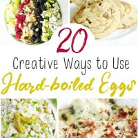 20 Creative Ways to Use Hard Boiled Eggs