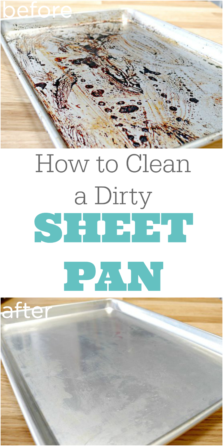 How to Clean a Dirty Sheet Pan