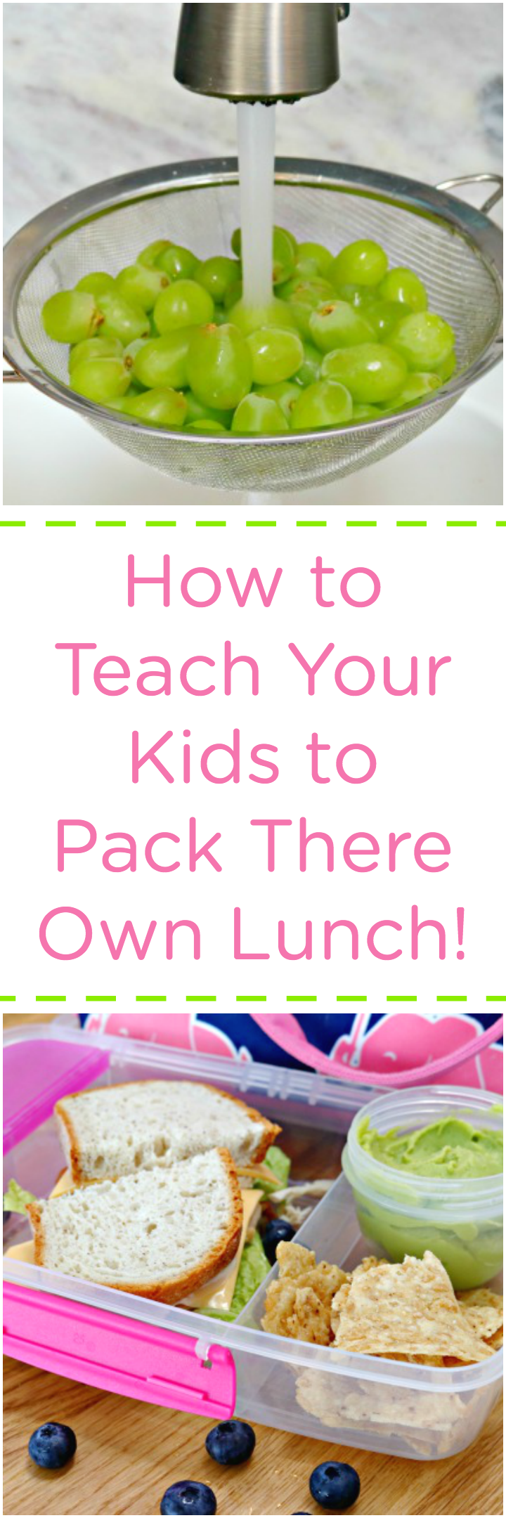 School Lunches - Teach Your Kids to Pack Their Own