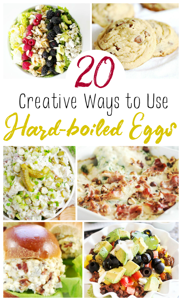 20 Creative Ways to Use Hard Boiled Eggs - Mom 4 Real