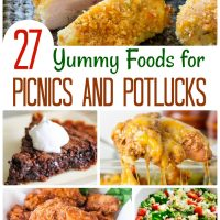 More Than 27 Yummy Foods for Picnics and Potlucks