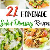 21 Homemade Salad Dressing Recipes