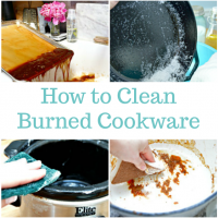 How to Clean Burned Cookware