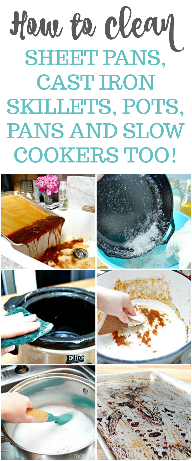 How To Clean Burned Cookware Mom 4 Real