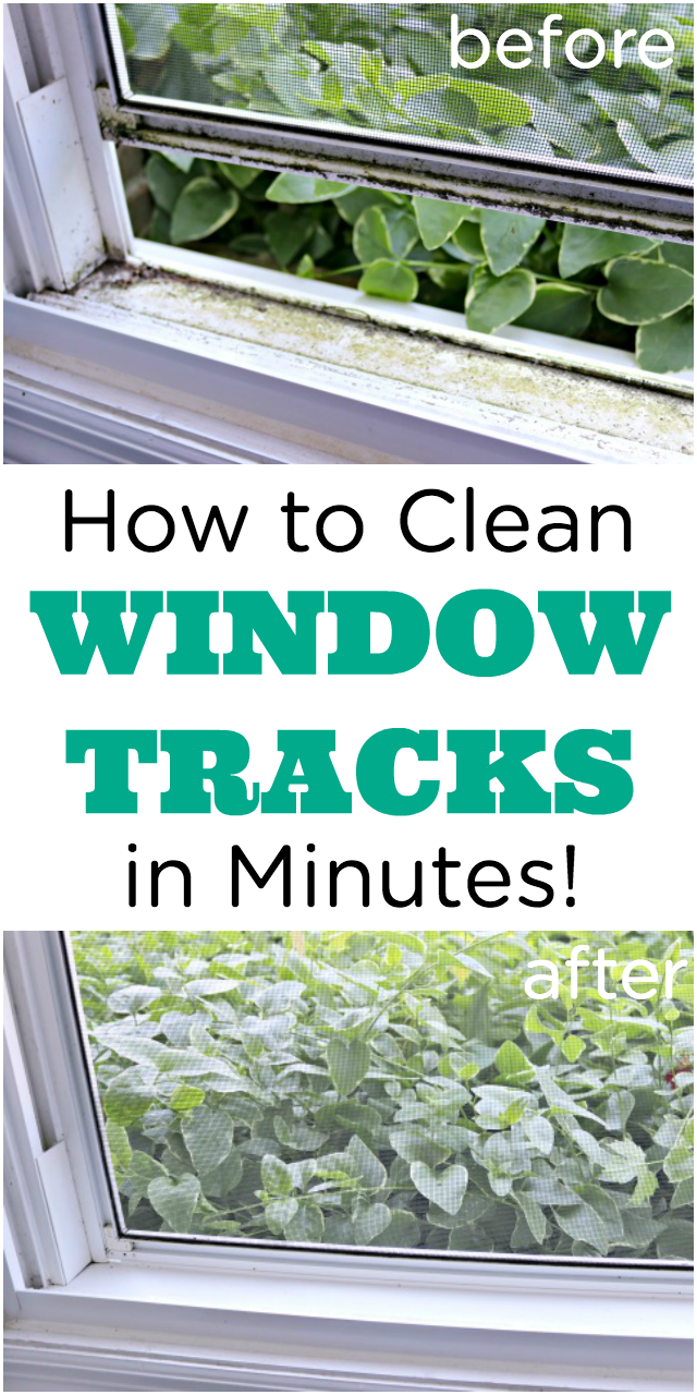 How to Clean Dirty Window Tracks in Minutes