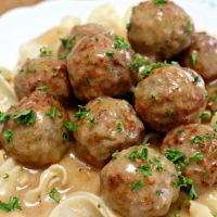 Delicious Swedish Meatballs Using Frozen Meatballs