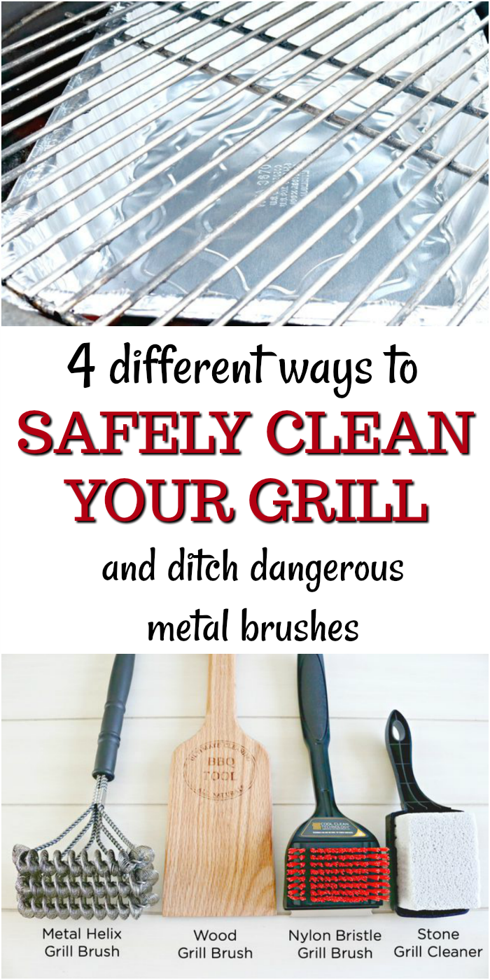 Grill Cleaning Safety Tips and Recipes