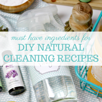 13 Ingredients for DIY Natural Cleaning Recipes