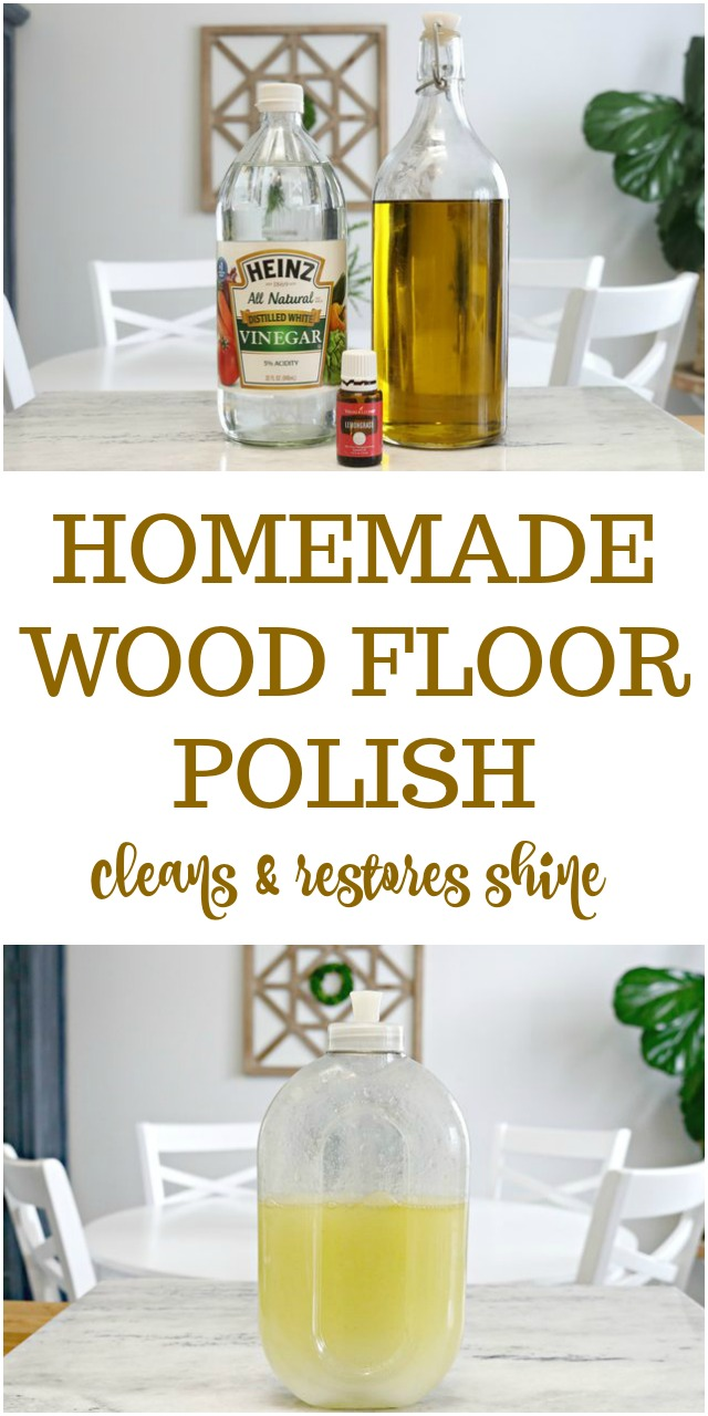 Homemade Wood Floor Polish Recipe