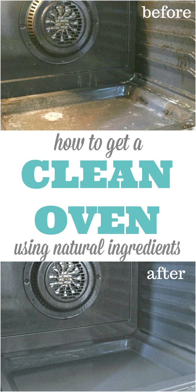 How to Get a Naturally Clean Oven in Minutes