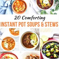 Easy and Delicious Instant Pot Soup Recipes