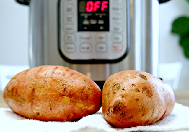 sweet potatoes Instant Pot